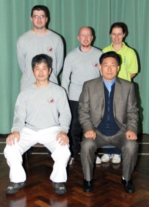 Posing with Grandmaster Tse and Grandmaster Chen