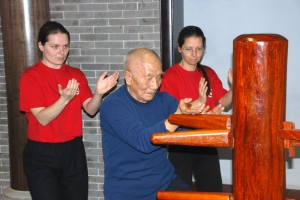 Wing Chun Dummy with Grandmaster Ip Chun